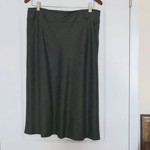 Elegant Gray Skirt Sise 10 Made in Italy